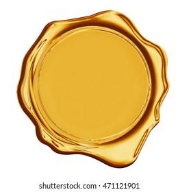 gold stamp wax