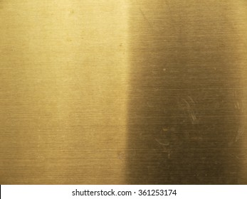 gold steel texture old