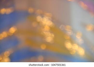 gold stream blur