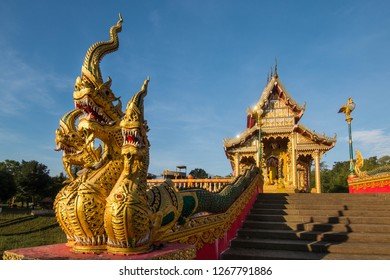 Gold Temple architecture , North of Thailand