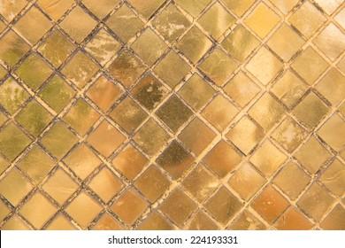 gold texture glitter background at abbey(Wat Phra Kaew) in Bangkok ,Thailand
