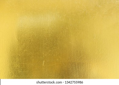 Gold texture of metallic gold background