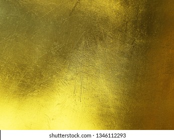 Gold texture of paper gold background