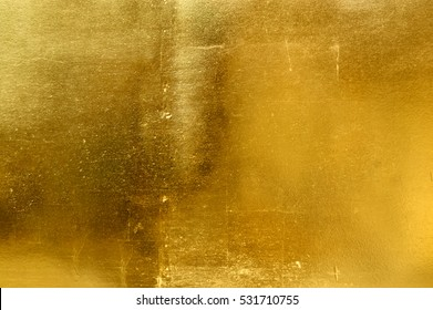 Gold texture wall