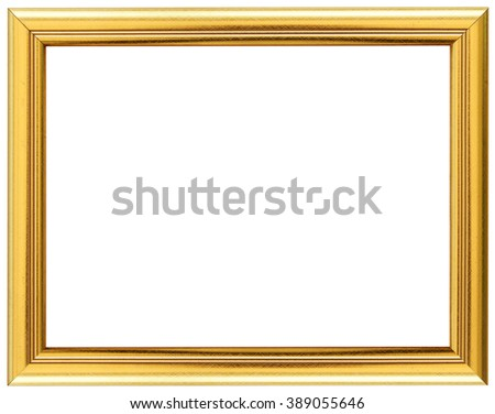 82afed98cc17 Gold Vintage Frame Isolated On White Stock Photo Edit Now