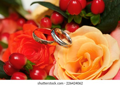 Gold Rings On Hand Images Stock Photos Vectors Shutterstock