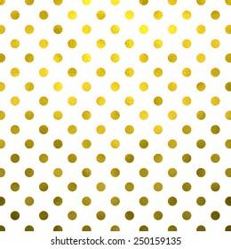 Gold White Polka Dot Pattern Swiss Dots Texture Digital Paper Background