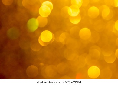 Gold and yellow Christmas Glittering background