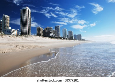 Goldcoast beach, Queensland, Australia