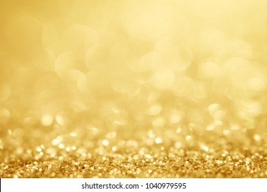 Golden background glitter texture christmas