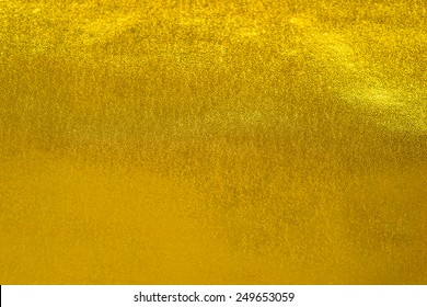 Golden background wall