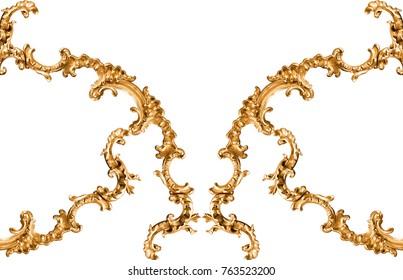 golden baroqe ornament