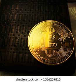 The golden bit coin