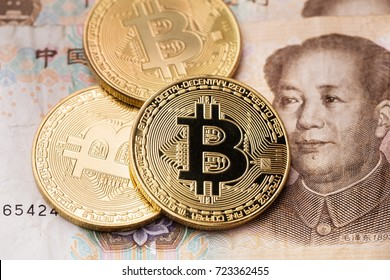 Golden bitcoin and China cash money
