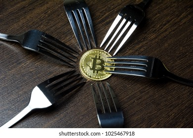 Golden Bitcoin and silver forks