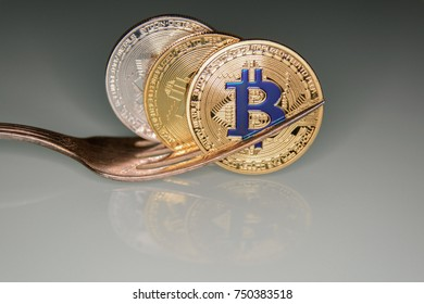 golden bitcoins in fork