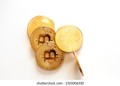 Golden bitcoins new virtual money