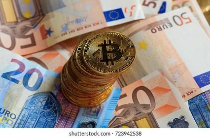 euro bitcoin în timp real
