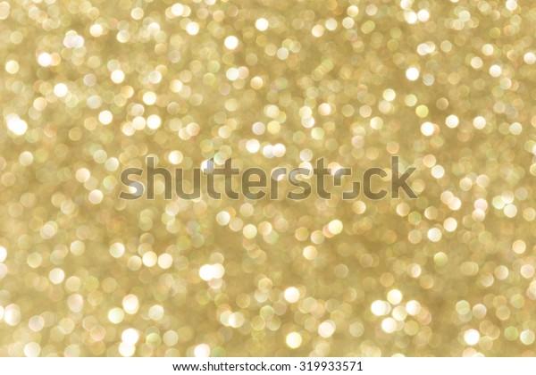 golden bokeh for background