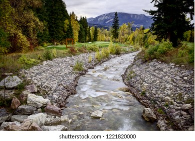 Golden British Columbia Kicking Horse Country stream