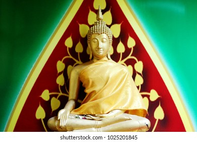 Golden Buddha in Buddhist Temple