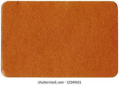 Golden bussines card