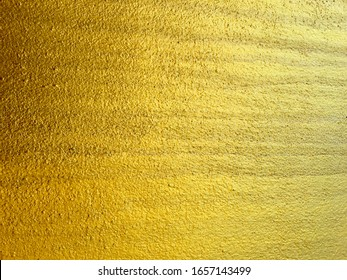 Golden cement texture for background abstract