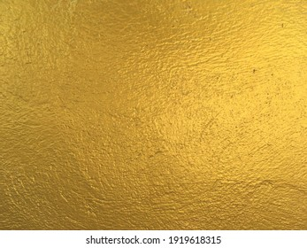 Golden cement texture for background abstract design