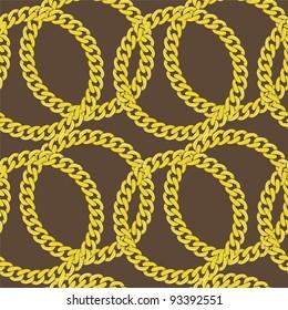 Golden chain seamless
