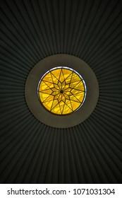 Golden circle window