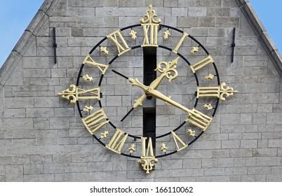 Golden Clock in Brussels