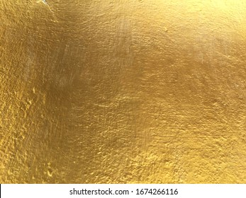 Golden color surface wall texture background