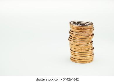 golden dollar coins, US mint roll