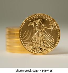 Golden eagle gold bullion