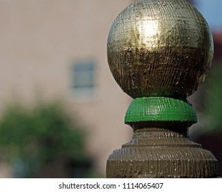 Golden Finial Ball