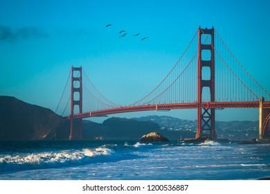 Golden Gate Bridge, Baker Beach, San Francisco