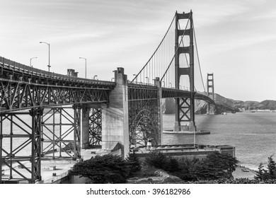Golden Gate Bridge, Famous landmark of San Francisco USA