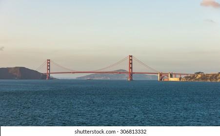 Golden Gate Bridge from Land End