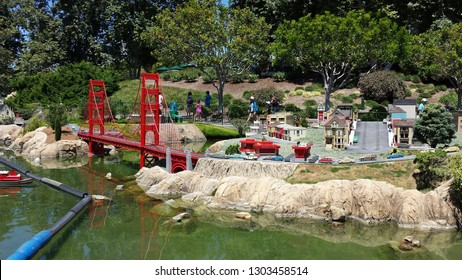 Golden Gate Bridge at Legoland California