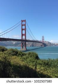 Golden Gate Bridge - Portrait