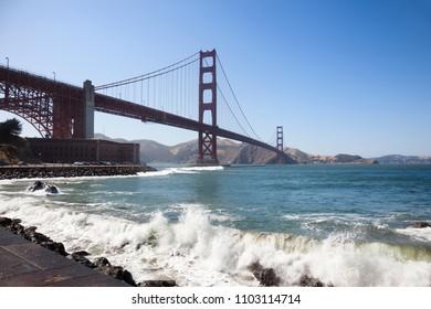 Golden Gate Bridge. San Francisco, California