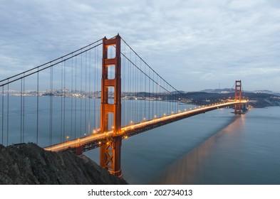 The Golden Gate Bridge. San Francisco. California.