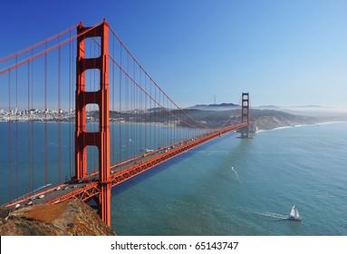Golden Gate Bridge in San Francisco California