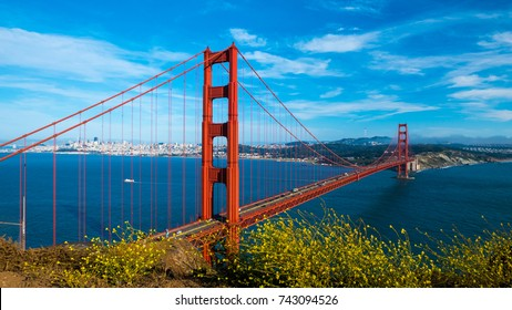 Golden Gate Bridge in San Fransisco, California