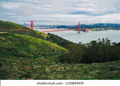Golden Gate Bridge View from Slacker Hill
