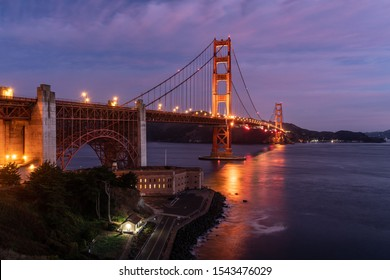 The Golden Gate Bridge Is A World Renown Bridge Spanning The Golden Gate, The One-Mile Wide Strait Connecting San Francisco Bay And The Pacific Ocean.