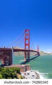 Golden Gate and Fort Mason, San Francisco