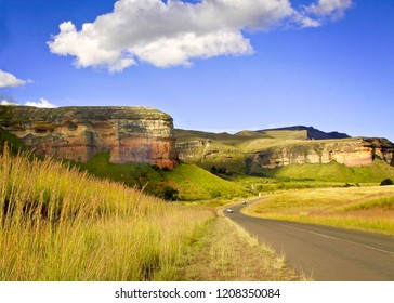 Golden Gate Highlands National Park is located in Free State, South Africa, near the Lesotho border, near Clarens