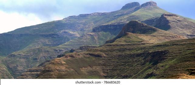 Golden Gate Highlands national Park, Drakensberg mountains, South Africa