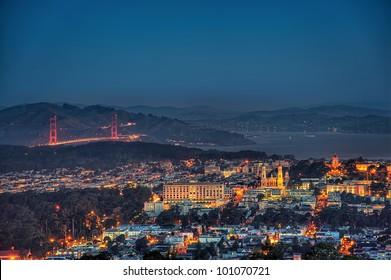 Golden Gate in San Francisco - Bay Area